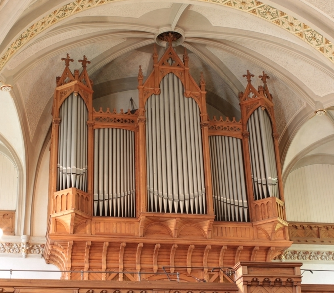 Orgel in der Emmauskirche